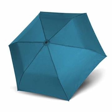 doppler Taschenschirm Zero,99 – Gewicht von nur 99 Gramm – Stabil – Windproof – 21 cm – Ultra Blue - 4
