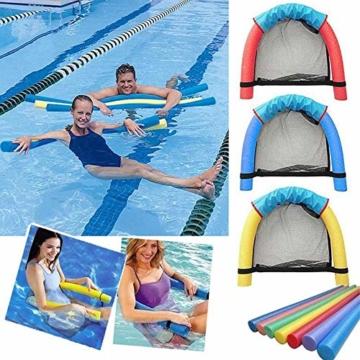 DQM 3 STÜCKE Schwimmbad Float Wasser Stuhl, Erwachsene Schwimmbett, Erwachsene Kinderschwimmausrüstung, Big Auftrieb Schaumstock, Strand - 2