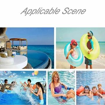 DQM 3 STÜCKE Schwimmbad Float Wasser Stuhl, Erwachsene Schwimmbett, Erwachsene Kinderschwimmausrüstung, Big Auftrieb Schaumstock, Strand - 3