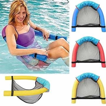 DQM 3 STÜCKE Schwimmbad Float Wasser Stuhl, Erwachsene Schwimmbett, Erwachsene Kinderschwimmausrüstung, Big Auftrieb Schaumstock, Strand - 4