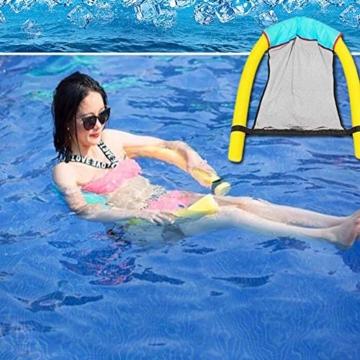 DQM 3 STÜCKE Schwimmbad Float Wasser Stuhl, Erwachsene Schwimmbett, Erwachsene Kinderschwimmausrüstung, Big Auftrieb Schaumstock, Strand - 6