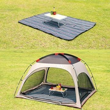Extsud Outdoor Camping Picknick Matte Feuchtigkeit Pad Ethnische Art Tragbare Picknick Decke Wasserdicht Campingdecke Stranddecke mit Tragegriff Picknick Matte 200 x 150cm - 6