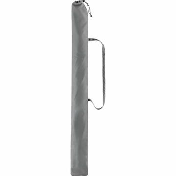 FARE Sonnenschirm Modern Gr. M - 177cm Durchmesser - UV-Schutz 50+ für Balkon Garten Terrasse Sommer - Titan-Finish inkl. Drehfeststeller Sicherheitsschieber Tragetasche (Aprikose) - 7