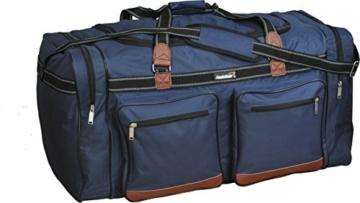 Foolsgold Extra große 120L Reisetasche Holdall Tasche Dunkelblau - 1