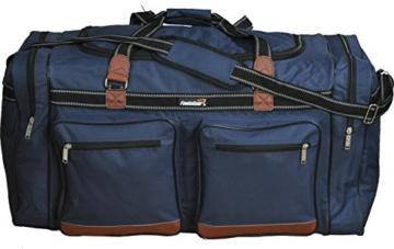 Foolsgold Extra große 120L Reisetasche Holdall Tasche Dunkelblau - 2