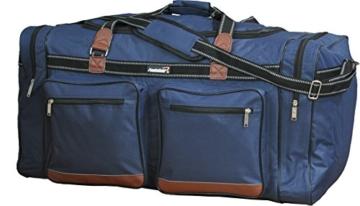 Foolsgold Extra große 120L Reisetasche Holdall Tasche Dunkelblau - 3