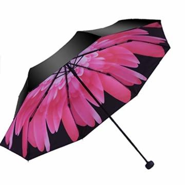 Gfbyq Doppel-Sonnenschirme, Sonnenschutz-UV-Sonnenschirme Doppelnutzung Der Koksfaltung Sunny Und Rain Doppeltem Verwendungszweck Verbessert (Farbe : B) - 1