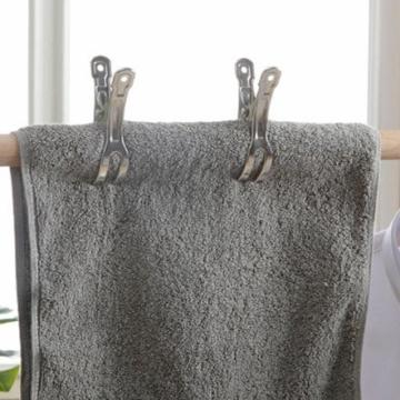 Handtuch Klammer,Strandtuch Clips Edelstahl Große Wäscheklammern für Tägliche Wäsche Strandtuch Badetuch Bettwäsche und dicke Kleidung 8.5cm 12packs - 5