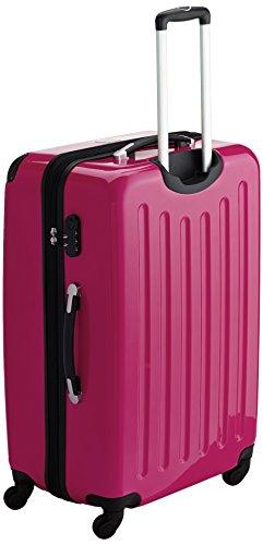 HAUPTSTADTKOFFER - Alex - 3er Koffer-Set Hartschale glänzend Unisex, (S, M & L), 235 Liter, Mehrfarbig (Apfelgrün-blau-Magenta) - 3