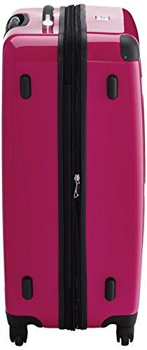 HAUPTSTADTKOFFER - Alex - 3er Koffer-Set Hartschale glänzend Unisex, (S, M & L), 235 Liter, Mehrfarbig (Apfelgrün-blau-Magenta) - 5