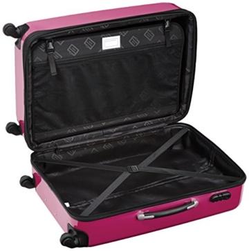 HAUPTSTADTKOFFER - Alex - 3er Koffer-Set Hartschale glänzend Unisex, (S, M & L), 235 Liter, Mehrfarbig (Apfelgrün-blau-Magenta) - 6
