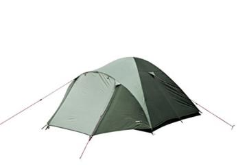 High Peak Kuppelzelt Nevada 3, Campingzelt mit Vorbau, Iglu-Zelt für 3 Personen, doppelwandig, 2.000 mm wasserdicht, Ventilationssystem, Wetterschutz-Eingang, Moskitoschutz - 2