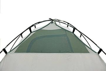 High Peak Kuppelzelt Nevada 3, Campingzelt mit Vorbau, Iglu-Zelt für 3 Personen, doppelwandig, 2.000 mm wasserdicht, Ventilationssystem, Wetterschutz-Eingang, Moskitoschutz - 5