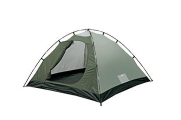 High Peak Kuppelzelt Nevada 3, Campingzelt mit Vorbau, Iglu-Zelt für 3 Personen, doppelwandig, 2.000 mm wasserdicht, Ventilationssystem, Wetterschutz-Eingang, Moskitoschutz - 6