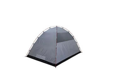 High Peak Kuppelzelt Tessin 5, Campingzelt mit Vorbau, 2 Eingänge, Familien-Zelt für 5 Personen, extra hoher Eingang, doppelwandig, 3.000 mm wasserdicht, Ventilationssystem, Moskitoschutz - 3