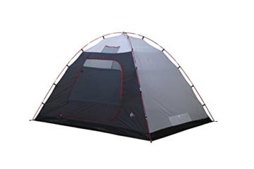 High Peak Kuppelzelt Tessin 5, Campingzelt mit Vorbau, 2 Eingänge, Familien-Zelt für 5 Personen, extra hoher Eingang, doppelwandig, 3.000 mm wasserdicht, Ventilationssystem, Moskitoschutz - 4