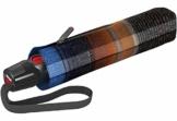 Knirps T.200 Medium Duomatic Regenschirm Taschenschirm T200 Auf-Zu Automatik Ingrid Blue - 1