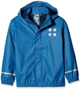 Lego Wear Jungen Jonathan 101-RAIN Jacket Regenjacke, Blau (Blue 556), 134 - 1