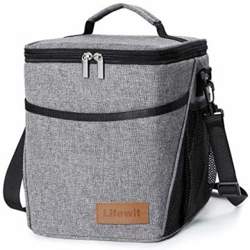 Lifewit Kühltasche klein Kühlbox faltbar Lunchtasche Mittagessen Tasche Thermotasche Isoliertasche Picknicktasche für Lebensmitteltransport Arbeit Picknick - 1