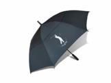 Love Golf Days Golf-Regenschirm, automatisch, offen, doppelt, belüftet, wasserdicht, winddicht, UV-Schutz, Größe XL, Schwarz - 1