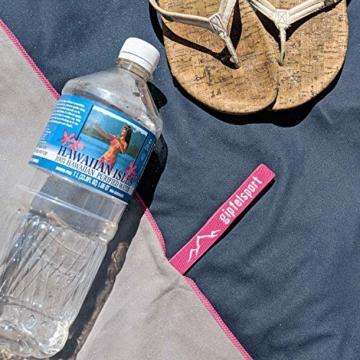 Mikrofaser Handtuch Set - Microfaser Handtücher für Sauna, Fitness, Sport I Strandtuch, Sporthandtuch I 1x XXL(200x90cm) I Pink - 9