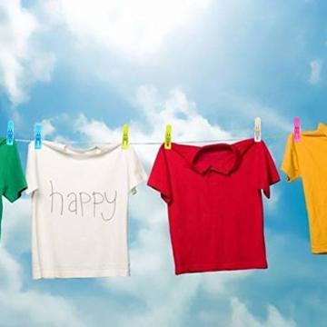 Moyad 8 Stück große Wäscheklammern Clips Handtücher Towel Winddicht Klammern auf Strand und Sonnenliegen für Wäsche, Strandtuch, Badetuch, Teppich - 6
