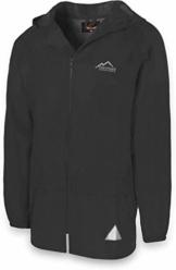 normani Leichte Windjacke/Regenjacke im Beutel, Unisex - Erwachsene Farbe Black Größe 5XL - 1