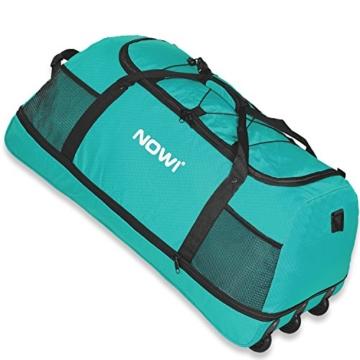 NOWI XXL 3-Rollen Reisetasche platzsparend 81 cm mit Dehnfalte - 1