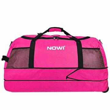 NOWI XXL Riesen Reisetasche mit 3 Rollen Rollenreisetasche 81 cm - 3