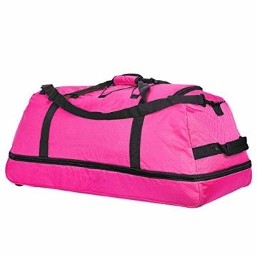 NOWI XXL Riesen Reisetasche mit 3 Rollen Rollenreisetasche 81 cm - 6