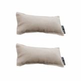 NUOBESTY 2 Stück Entspannen Handgelenkauflage Armpolster Baumwolle Anti-Rutsch-Handgelenk Ellbogenmatte Büro Desktop-Computer-Pad (Rosa) - 1