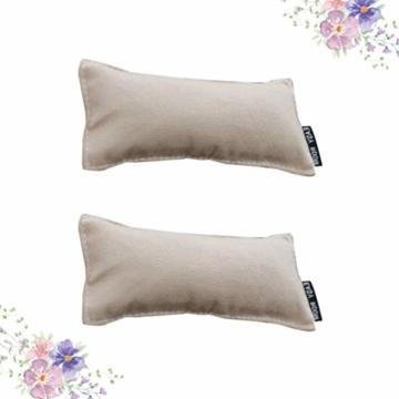 NUOBESTY 2 Stück Entspannen Handgelenkauflage Armpolster Baumwolle Anti-Rutsch-Handgelenk Ellbogenmatte Büro Desktop-Computer-Pad (Rosa) - 5