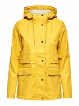 ONLY Damen Regenjacke Einfarbige MYolk Yellow - 1