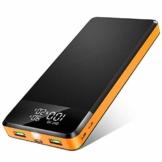ORITO Powerbank 26800mAh, PD Power Bank USB C QC3.0 Schnellladung, 5-Port Externer Akku mit Digitale Anzeige LED Licht Extrem Tragbares Ladegerät für iPhone, iPad, Mac, Samsung, Huawei - 1