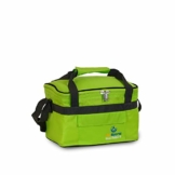 outdoorer Kleine Kühltasche Cool Butler 6, grün, mit Außentasche - 1