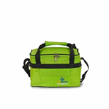 outdoorer Kleine Kühltasche Cool Butler 6, grün, mit Außentasche - 4