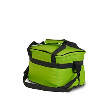 outdoorer Kleine Kühltasche Cool Butler 6, grün, mit Außentasche - 6
