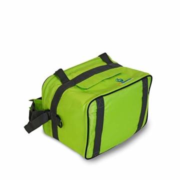outdoorer Kleine Kühltasche Cool Butler 6, grün, mit Außentasche - 8