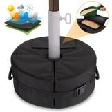 Patio Beach Runder Regenschirm Base Weight Bag - Zeltbodengewicht Tasche für Canopy Sand Ergonomischer Ständer Hinzufügen von Gewicht für Alle Outdoor-Sonnenschirme Oder Fahnenmasten - 1