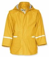 Playshoes Kinder Regenjacke-Mantel mit abnehmbarer Kapuze, Gelb (12 Gelb), Gr. 98 - 1