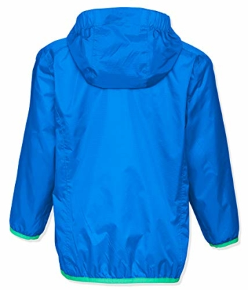 Playshoes Kinder-Unisex Regenjacke faltbar Regenmantel, Blau 7, 140 - 2