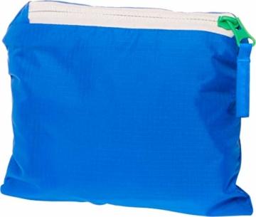 Playshoes Kinder-Unisex Regenjacke faltbar Regenmantel, Blau 7, 140 - 3