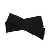 Sharplace 2 STK. Elastische Armauflage, Armlehnen Polster, Ellenbogen Kissen für Drehstuhl Bürostuhl - Schwarz - 1