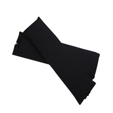 Sharplace 2 STK. Elastische Armauflage, Armlehnen Polster, Ellenbogen Kissen für Drehstuhl Bürostuhl - Schwarz - 4
