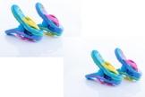 Strandtuch-Klammern Boca – 2 Paar Flip-Flops - 1