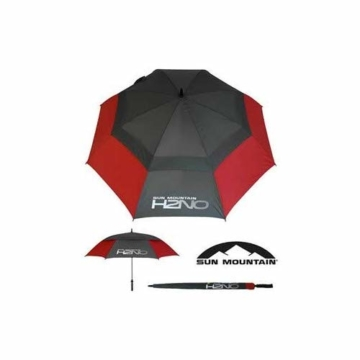 Sun Mountain Unisex Golfschirm, Unisex, rot/grau, 157,48 cm - 4