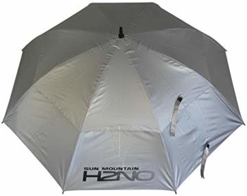 Sun Mountain Unisex H2NO Doppel-Schirm, 152,9 cm, silberfarben - 1