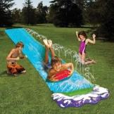 talogca Wasserrutsche, Aufblasbare Wasserrutsche, Rutsche Wassermatte Mit Eingebauten Sprinklern, Kinder Outdoor Wasserspielzeug Für Garten - 1