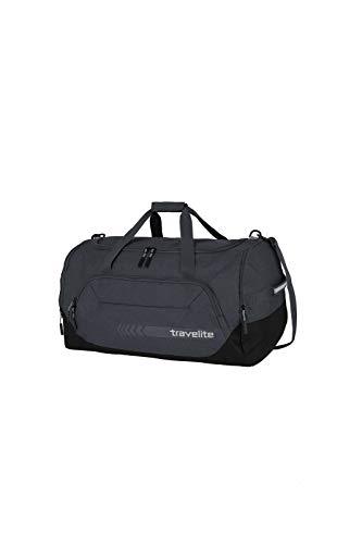 travelite große Reisetasche Größe L, Gepäck Serie KICK OFF: Praktische Reisetasche für Urlaub und Sport, 006915-04, 60 cm, 73 Liter, d'anthrazit (grau) - 3