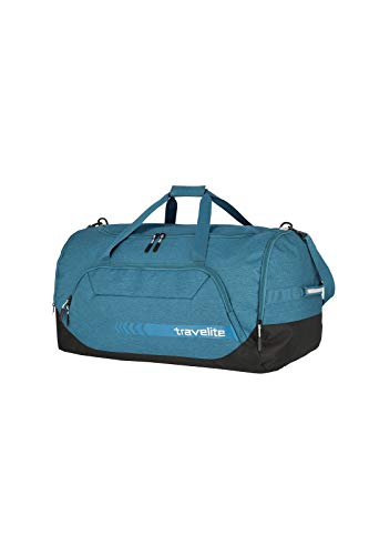 travelite große Reisetasche Größe XL, Gepäck Serie KICK OFF: Praktische Reisetasche für Urlaub und Sport, 006916-22, 70 cm, 120 Liter, petrol (türkis) - 2